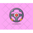 Steering Car Steering Controle Wheel Icon