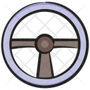 Steering Car Steering Controle Wheel Icon
