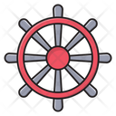 Steering Boat Ship Icon