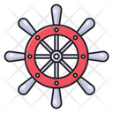 Wheel Steering Drive Icon