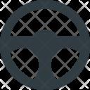 Steering Wheel Component Icon
