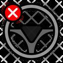 Steering Remove Icon