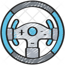 Steering Wheel Controller Icon