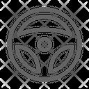Steering Wheel Drive Icon