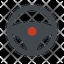 Automobile Car Steering Icon