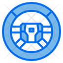 Steering Wheel Drive Car Icon
