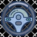 Steering Wheel Steering Car Icon