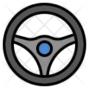 Steering Wheel Drive Icon