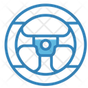 Steering Wheel Vehicle Automobile Icon