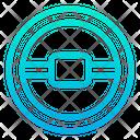 Car Steering Controller Icon