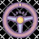 Steering Wheel Car Icon