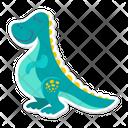 Stegosauro Dino Dinosaur Icon