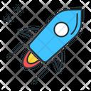 Stellar Launch Rocket Icon