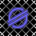 Stellar Crypto Rocket Icon