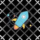 Stellar Rocket Launch Icon