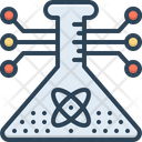 Stem Science Experiment Icon