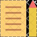 Steno pad Icon