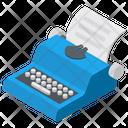 Stenotype Machine Icon