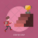 Step Up Grow Icon