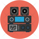 Stereo Woofer Audio Icon