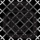 Stereo Cassette Player Cassette Recorder Icon