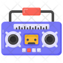 Tape Deck Vintage Radio Radio Icon