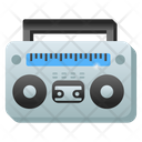 Stereophonic Stereo Boombox Icon