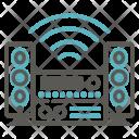 Stereo Loudspeaker Speaker Icon