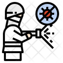 Coronavirus Protection Clean Icon