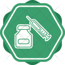 Steroids Syring Vaccine Icon