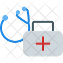 Stethescope First Aid Box First Aid Kit Icon