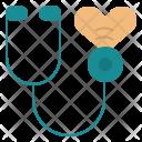 Stethoscope Heart Sound Icon