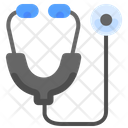 Stethoscope Doctor Check Icon