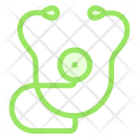 Stethoscope Medical Checkup Icon
