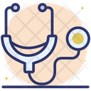 Stethoscope Phonendoscope Medical Equipment Icon