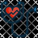 Stethoscope Doctor Heart Icon