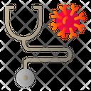 Wind Corona Virus Covid Icon