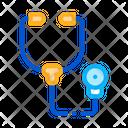 Medical Phonendoscope Aid Icon