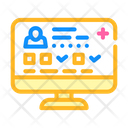 Digital Medical Card Icon