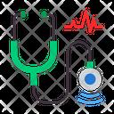 Stethoscope Doctor Healthcare Icon