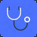 Stethoscope Phonendoscope Medical Icon