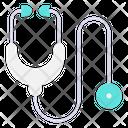 Stethoscope Phonendoscope Doctor Instrument Icon
