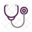 Medical Healthy Stethoscope Icon