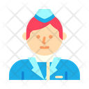Stewardess Icon