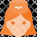 Stewardess Fly Lady Icon