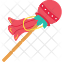 Stick Holiday Decoration Icon