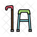 Stick Walking Frame Icon