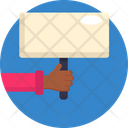 Protest Hand Strike Icon