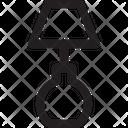 Stick Bulb Icon