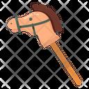 Stick Horse Cockhorse Toy Icon
